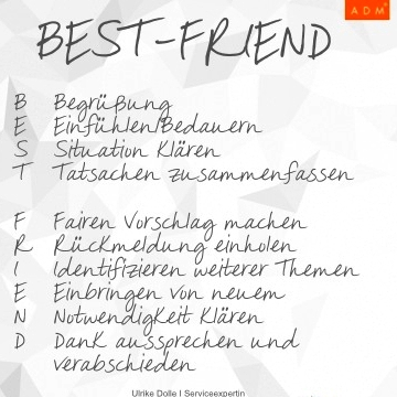 Die Best-Friend-Methode