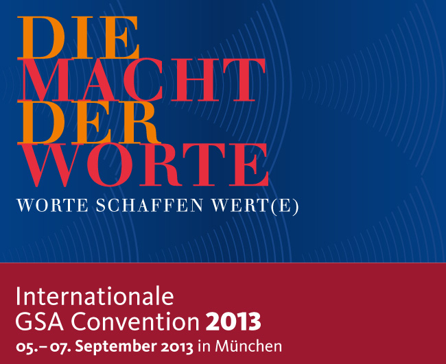 GSA Convention 2013 - Friedbert Gay und persolog